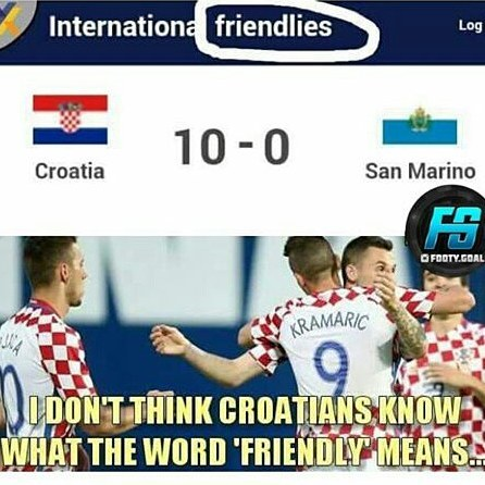 friendly betting croatia